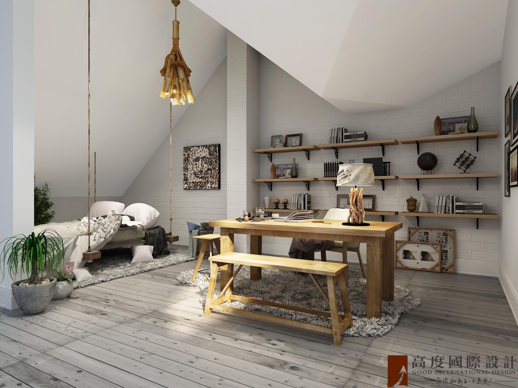 其他图片来自北京高度国际在潮白河孔雀城---北欧风格的分享