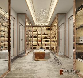 衣帽间图片来自北京高度国际在金科天玺---现代轻奢的分享