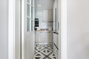 三居 装修 设计 北欧风格 厨房图片来自俏业家装饰在万科金域学府现代风格装修的分享