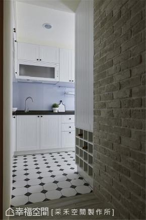 装修设计 装修完成 工业风格 厨房图片来自幸福空间在66平,引光入室,个性无印减压宅的分享