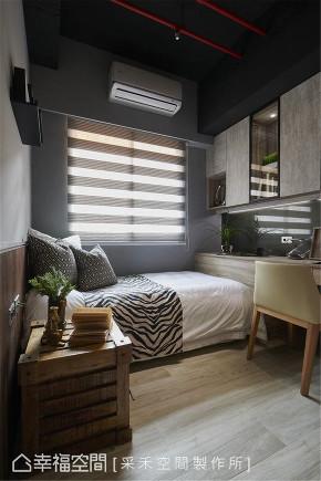 装修设计 装修完成 工业风格 儿童房图片来自幸福空间在66平,引光入室,个性无印减压宅的分享