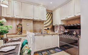 厨房图片来自家装大管家在101平简约美式3居 细腻美妙之家的分享