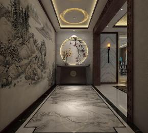 玄关图片来自业之峰装饰旗舰店在含蕴古香的分享