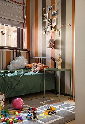 儿童房图片来自家装大管家在鲜明利落视觉 120平现代时尚3居的分享
