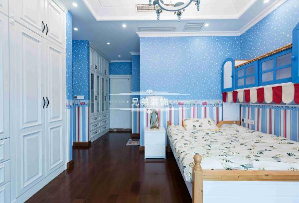 儿童房实景装修设计参考图