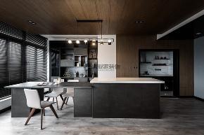 简约 现代 黑白灰 跃层 餐厅图片来自俏业家装饰在龙湖春森彼岸现代黑白灰实景案例的分享