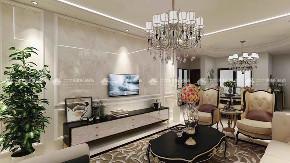 欧式 欧式奢华 奢华 高富帅 白富美 享受 三居 混搭 白领 客厅图片来自二十四城装饰(集团)昆明公司在盛唐城 欧式奢华风的分享