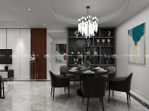 现代简约 现代 时尚 白领 小资 收纳 混搭 未来家 定制家 餐厅图片来自二十四城装饰(集团)昆明公司在恒泰滇池名门  现代简约的分享