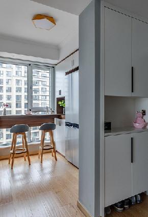 厨房图片来自家装大管家在96平北欧时尚两居 别有一番滋味的分享