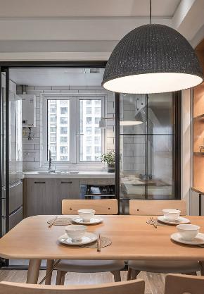 欧式 三居 收纳 旧房改造 80后 餐厅图片来自北京今朝装饰在80㎡北欧风格三居室 的分享