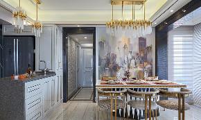 餐厅图片来自家装大管家在内敛的奢华 128平现代简洁3居室的分享