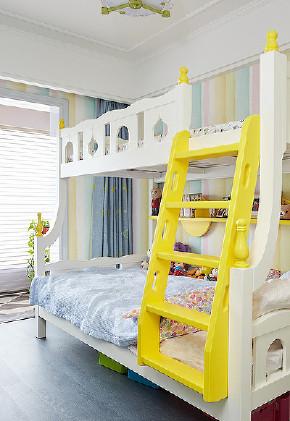 儿童房图片来自家装大管家在内敛的奢华 128平现代简洁3居室的分享