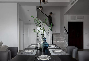 别墅 现代 餐厅图片来自重庆兄弟装饰黄妃在茶园光华安纳溪湖叠拼装修设计的分享