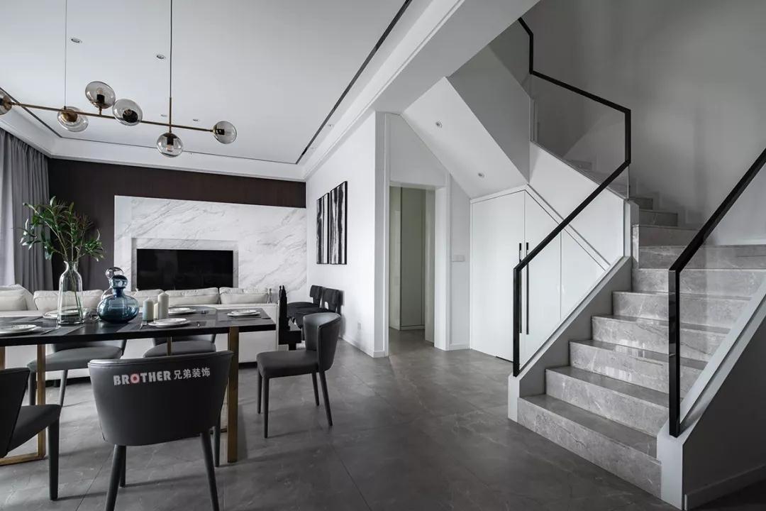 别墅 现代 客厅图片来自重庆兄弟装饰黄妃在茶园光华安纳溪湖叠拼装修设计的分享