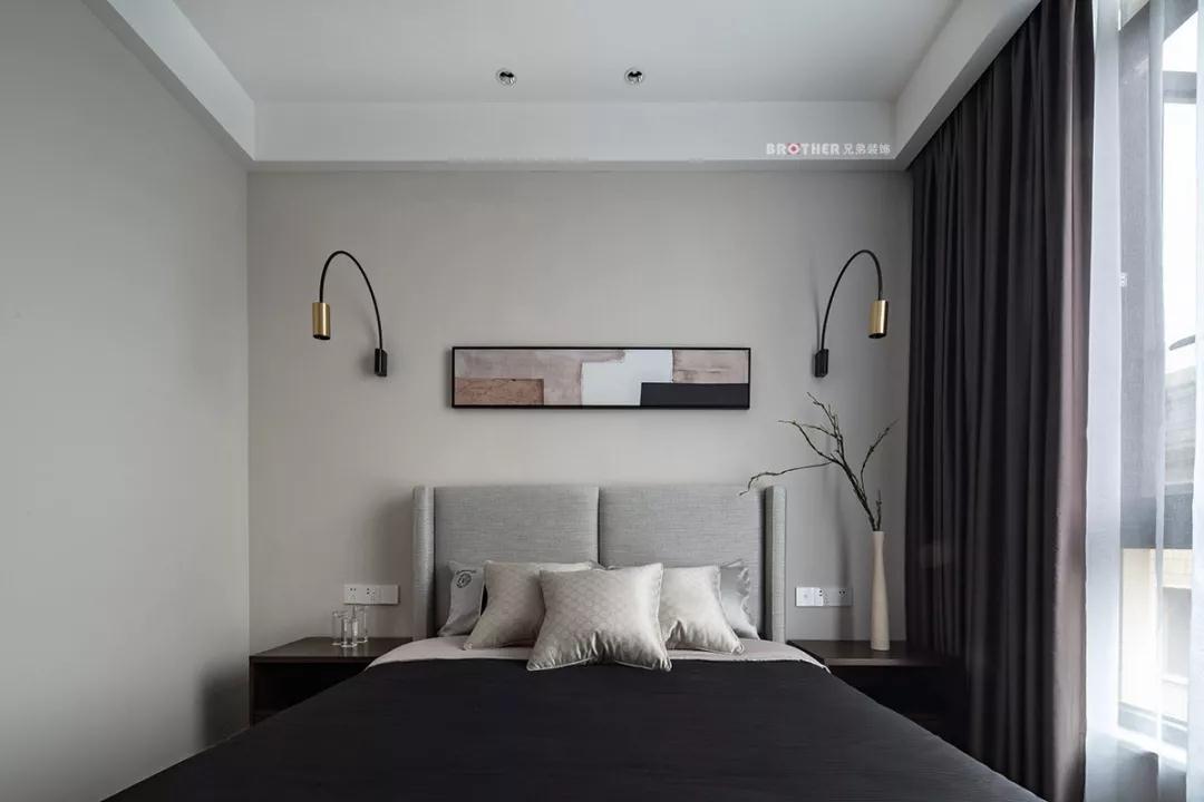 别墅 现代 卧室图片来自重庆兄弟装饰黄妃在茶园光华安纳溪湖叠拼装修设计的分享