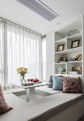 书房图片来自家装大管家在开阔舒适 100平现代北欧混搭3居的分享