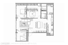 装修设计 装修完成 休闲多元风 户型图图片来自幸福空间在109平,老屋翻新  纵享乐龄生活的分享