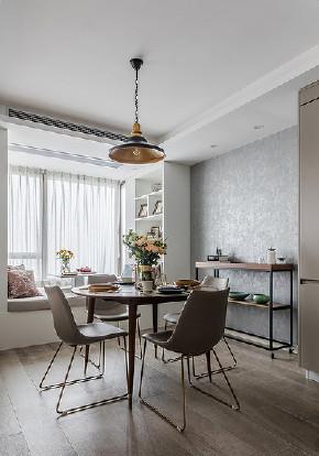 餐厅图片来自家装大管家在开阔舒适 100平现代北欧混搭3居的分享
