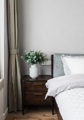 卧室图片来自家装大管家在开阔舒适 100平现代北欧混搭3居的分享