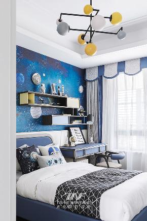 王五平设计 样板房设计 儿童房图片来自王五平设计在阳朔彰泰十里春风T2样板房的分享