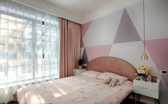 欧式 三居 旧房改造 小资 80后 卧室图片来自北京今朝装饰在做梦都想要的家! 的分享