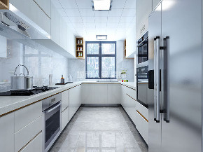 现代风格 高科麓湾 四居 西安装修 装修公司 厨房图片来自西安城市人家装饰王凯在看过一生繁华,方知平凡最真的分享