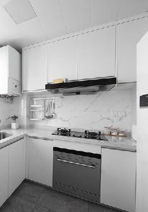 厨房图片来自家装大管家在98平清新北欧空间 文艺范儿满满的分享