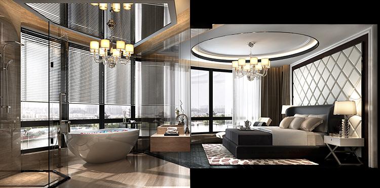 主卧室 卧室 主卫图片来自几墨空间设计在几墨设计 | 摩登未来的分享
