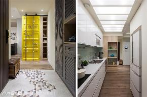 装修设计 装修完成 工业风格 轻工业风 厨房图片来自幸福空间在83平, 小俩口的甜蜜轻工业风的分享