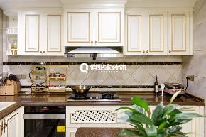 别墅 法式 装修风格 厨房图片来自俏业家装饰在法蓝西庄邸别墅|法式风格装修的分享