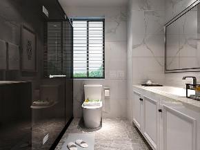 北欧 紫薇东进 四居 西安装修 装修公司 卫生间图片来自西安城市人家装饰王凯在北欧风自由空间,精致生活的分享