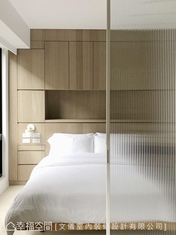 装修设计 装修完成 现代风格 卧室图片来自幸福空间在53平,男子专属的简单生活的分享