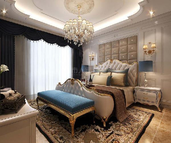 品质奢华型,以简约的风格,精湛的工艺,演绎出清雅脱俗的时尚欧式风格,搭配象牙白色的床头柜,干净洁白的整体效果。