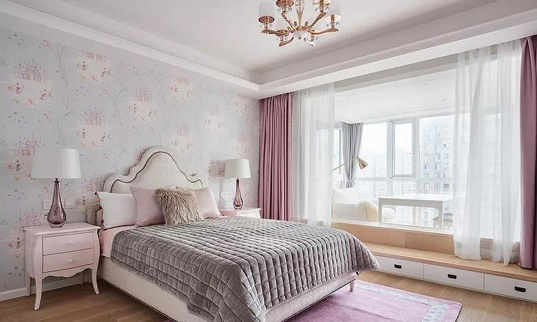 儿童房图片来自家装大管家在146平轻奢美式3居 都挺好的生活的分享