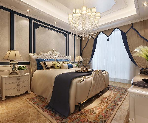 老人房就相对素雅,给父母一个舒心的休息环境。