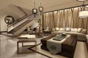 别墅 中式 收纳 客厅图片来自兄弟装饰-蒋林明在高屋林语堂别墅装修的分享
