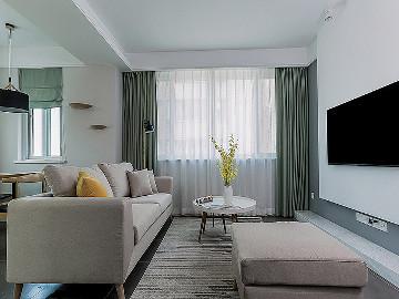 舒适的家 78平简约现代时尚空间