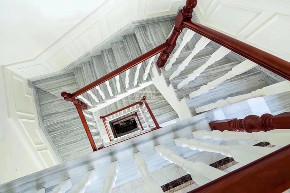 简欧 联排别墅 兄弟装饰 别墅设计 楼梯图片来自重庆兄弟装饰黄妃在渝北复地花屿城别墅装修效果的分享