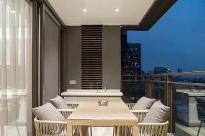 四居 现代 阳台图片来自快乐彩在城阳246平大平层典雅高级灰的分享
