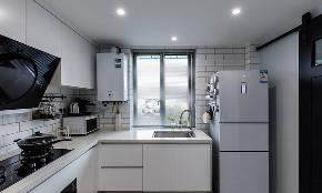 厨房图片来自家装大管家在70平北欧简洁舒适居 满满归属感的分享