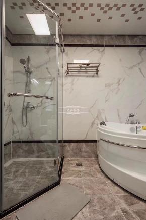 现代 居家装修 设计 卫生间图片来自重庆兄弟装饰黄妃在148平米金科公园王府装修的分享