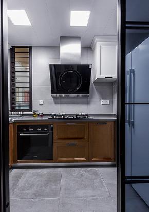 厨房图片来自家装大管家在删繁就简 92平现代简约舒适空间的分享