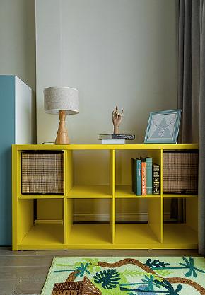 书房图片来自家装大管家在删繁就简 92平现代简约舒适空间的分享