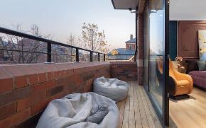 混搭 别墅 白领 收纳 80后 小资 阳台图片来自林上淮·圣奇凯尚装饰在300平米宽墅60万变身150万精品墅的分享