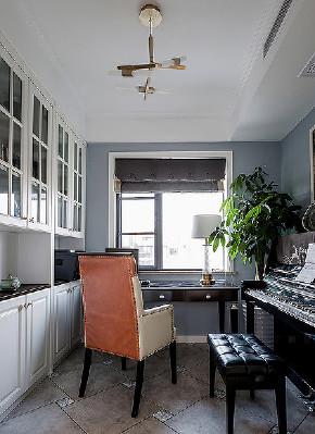 书房图片来自家装大管家在去繁从简 140平现代雅致舒适3居的分享