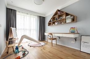 北欧 书房图片来自大墅尚品-由伟壮设计在140㎡铂克花园『淡淡薄荷味』的分享