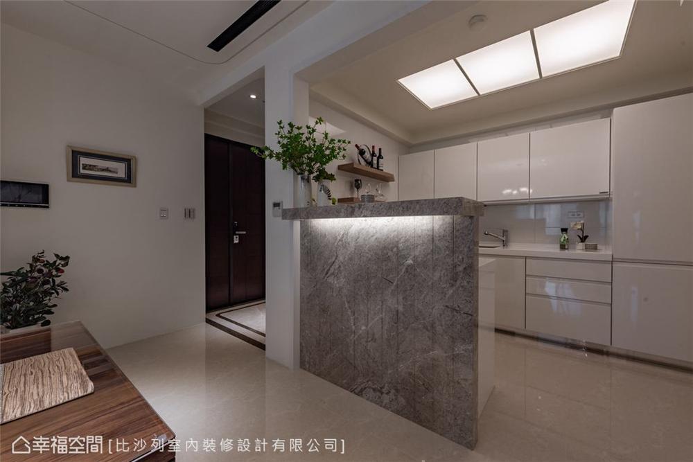 装修设计 装修完成 美式风格 厨房图片来自幸福空间在126平, 当代古典的折衷主义的分享