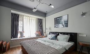 卧室图片来自家装大管家在116平现代混搭3居 心动的感觉的分享