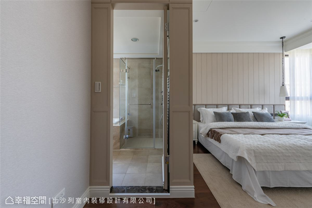 装修设计 装修完成 美式风格 卧室图片来自幸福空间在126平, 当代古典的折衷主义的分享