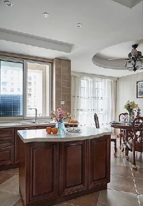厨房图片来自家装大管家在舒畅自然 142平美式乡村混搭3居的分享